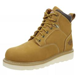 "Dickies Mens Bearcat 6"" Soft Toe Work Boots Leather Tan wate"