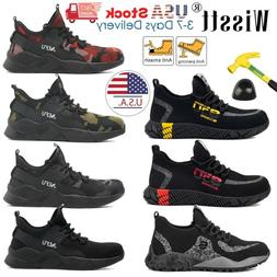 mens esd steel toe safety shoes work