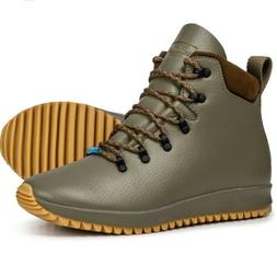 Mens Native shoes AP Apex boots olive green hiking boots