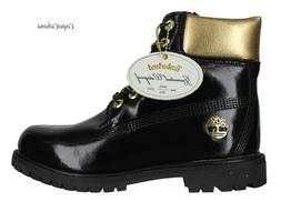 "Timberland Mens ""Premium 6 Inch Limited Edition"" Black Gold"