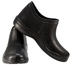 Mens Rubber Waterproof Rain and Garden Shoes. Clogs for Yard