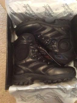 "Thorogood Mens/Women Blk Leather Deuce Tactical 8"" Boot-834-"