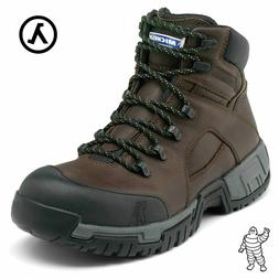 MICHELIN MEN'S HYDROEDGE STEEL TOE WATERPROOF BOOTS XHY662 *