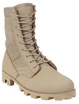 Military Style Jungle Boots Desert Tan Boot Rubber Panama So