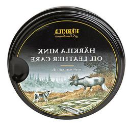 Harkila Mink Oil Leather Care with Natural Oils for shoes bo