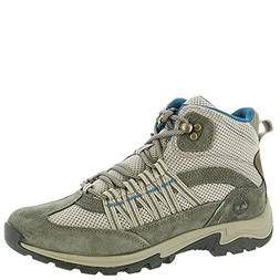 Timberland Womens Mt. Maddsen Lite Mid Medium Grey Suede/Fab
