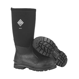 Muck Chore Classic Men's Rubber Work Boots,Black,Men's 10 M