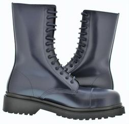 navy boots size 43
