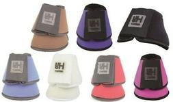 HyIMPACT Neoprene Over Reach Boots for Horses- Sold in Pairs
