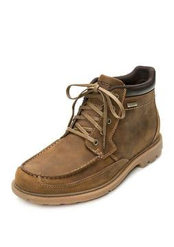 New Rockport Brown Waterproof Boots Size 11 NWB Retail $160