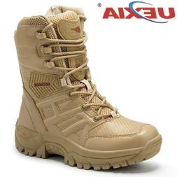 UEXIA New Footwear Military Tactical Mens <font><b>Boots</b>