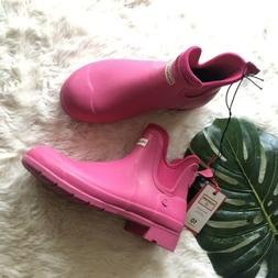 NEW Hunter For Target Women's Waterproof Ankle Rain Boots Pi