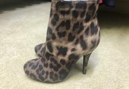 New Forever 21 Leopard Print Booties Size 6