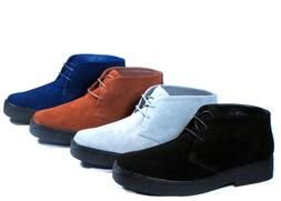 New Men Ankle Boots PlayBoy Chukka British Style Suede Casua