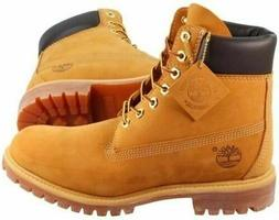 NEW TIMBERLAND MEN'S BOOTS 6 INCH CLASSIC WATERPROOF WHEAT N