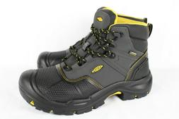 New Keen Men's Logandale Soft Toe Waterproof Work Boots 9 Bl