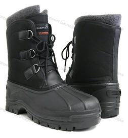 New Men's Winter Snow Boots Waterproof Insulated Thermolit H