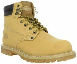 New Mens Dickies Soft Toe 6 Inch Raider Wheat Work / Fashion