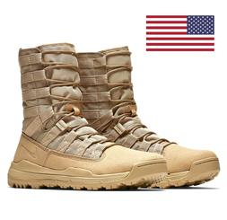 "NEW! NIKE SFB GEN 2 8"" BOOTS DESERT SIZES 5-15 MILITARY COMB"