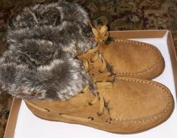 New size 8M in box Indigo rd boots winter fur lined/suede bo
