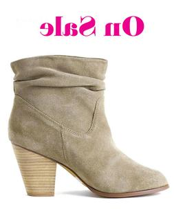 New Chinese Laundry Under Cover Suede Leather Ankle Boots La