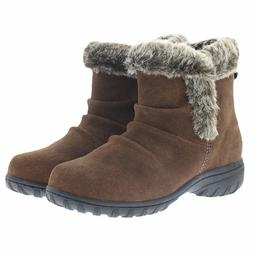 NEW - Khombu Women's Lisa All Weather Snow Winter Boots Brow