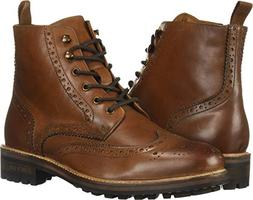 Kenneth Cole New York Men's MARAQ Lug Boot Fashion, Cognac,