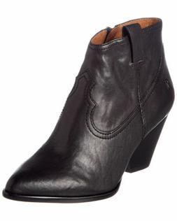 NIB - Frye Women's Reina Ankle Leather Boots Booties Short B