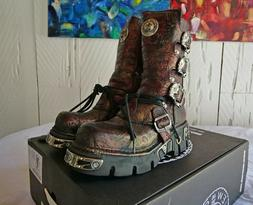 New Rock NR M.391 S26 Red - Boots, Metallic, SIZE 41 EU UNIS