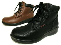 Grand Hunter Oil & Slip Resistant Genuine Leather Laced Up W