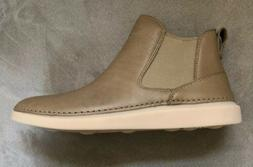 Olive Green Clarks boots for women