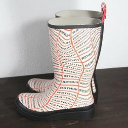 Hunter Original Play Sonic Logo Tall Rain Boot Women's Size