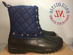 Paul Sperry Gosling Boots Ankle High Women's ~ Navy/Black ~