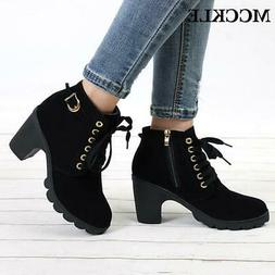 Plus Size Ankle Boots for Women