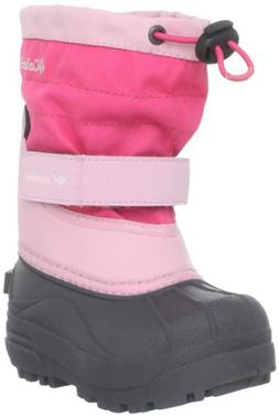 Columbia Toddler Powderbug Plus II Waterproof Winter Boot,Sa