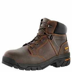 """Timberland PRO Helix 6"""" Alloy Toe Work Boots Brown TB0865182"""