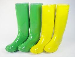 Rain/Mud/Snow Boots For Ladies & Girls, Choice of 2 Solid Co