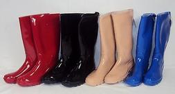 Rain/Mud/Snow Boots For Ladies & Girls, Choice of 4 Solid Co