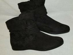 "Rampage ""Ram-Basha"" BLACK Synthetic boots Sz 8.5 M"