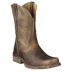 Ariat Rambler Mens Cowboy Boot Earth Brown Bomber 10002317 3