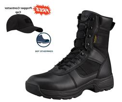 "Propper Series 100 8"" Side Zip Waterproof Composite Toe Tact"