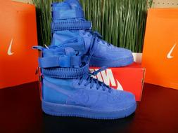 Nike SF AF1 Casual Mens Air Force 1 Special Field Boots Blue