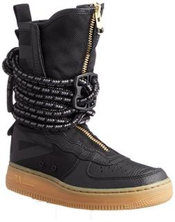 NIKE SF Air Force 1 High Top Womens Boots Black/Gum Light Br