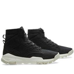 "Nike SFB 6"" Canvas NSW Bomber Boots Triple Black White 84457"