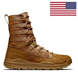"""NIKE SFB GEN 2 LT 8"""" MILITARY ARMY COYOTE LEATHER BOOTS 9224"""