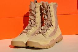 """Nike SFB Special Field Boot 8"""" Leather  688974 200  BK TAN"""