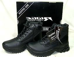 Ridge Side Zip Duty Boots for Police Military EMS - Great Mo