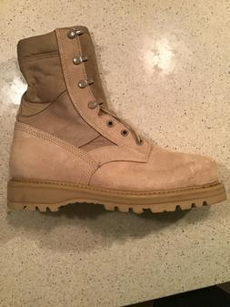 SIZE 7 1/5  Men's US ARMY ISSUED Boots  Vibram Brand