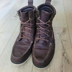 Sperry Top Sider A/O Lug II Weatherproof Men Leather Boots S