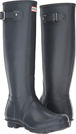 Hunter Women's Original Tall Dk Slate Rain Boots - 6 B US